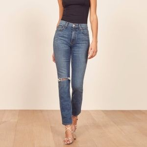 REFORMATION | Liza High Straight Jean